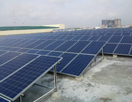 Hệ thống năng lượng mặt trời 100KWP Cà Mau